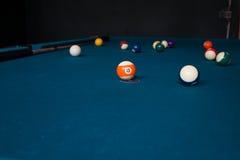 Billiard Match Stock Image