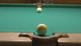 Billiard. stock footage