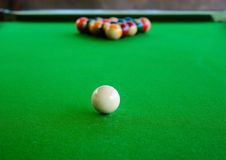 Billiard Royalty Free Stock Images