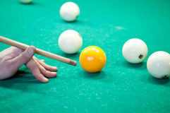 Billiard Player Stock Images