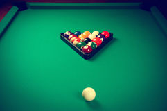 Billiard pool Stock Photo
