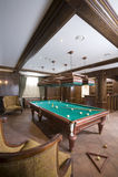 Billiard-Raum Stockbilder