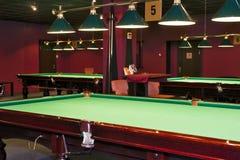 Billiard-Raum Lizenzfreie Stockfotografie