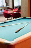 Billiard room Stock Photos