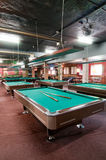 Billiard room Stock Photos