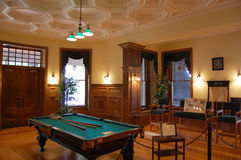 Billiard Room in Boldt Castle Stock Photography