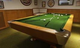 Billiard room modern style Stock Photos