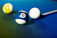 Billiard saloon Royalty Free Stock Photography