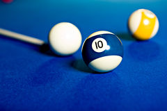 Billiard saloon Stock Photo