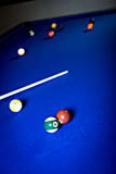 Billiard saloon Stock Images