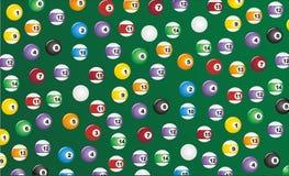 Billiard seamless pattern Stock Photos