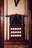Billiard set Stock Photo