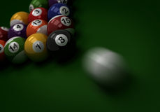 Billiard Shot Stock Photography