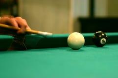 Billiard shot Royalty Free Stock Images