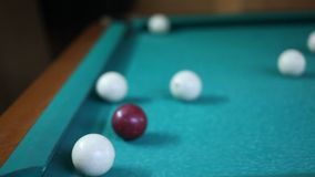 Billiard stock video