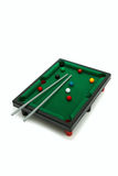 Billiard snooker. Board game -  billiard snooker. Isolated on white background Stock Photos