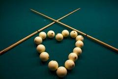 Billiard Spheres Royalty Free Stock Images