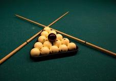 Billiard Spheres Stock Photography