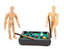 Billiard-Spiel Lizenzfreie Stockbilder