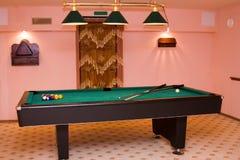 Billiard Table Stock Image