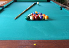 Billiard table_4 Stock Images