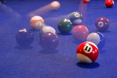 Free Billiard Table Royalty Free Stock Photography - 439717