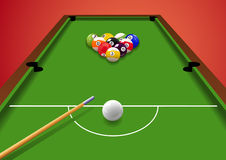 Billiard_table Royalty Free Stock Photography
