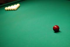 Billiard table Royalty Free Stock Photo
