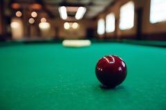 Billiard table Royalty Free Stock Image
