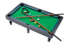 Billiard table close up Stock Photos