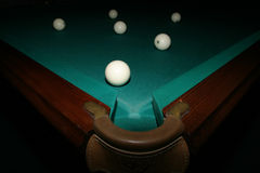 Billiard table Stock Photos