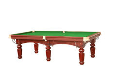 Billiard table cutout Royalty Free Stock Photos