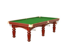 Billiard table cutout Royalty Free Stock Photo