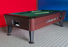 Billiard table Royalty Free Stock Photo