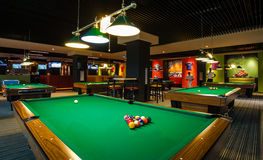 Billiard Table Stock Image