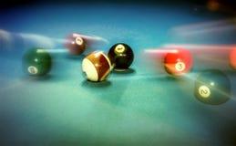 Billiard table vintage background Royalty Free Stock Photos