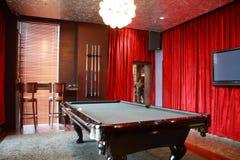 Billiard tables Stock Photo
