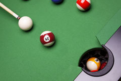 Billiard Time! Royalty Free Stock Image