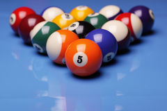 Billiard Time!. Billiard balls, cue and other! Sport time Royalty Free Stock Photos
