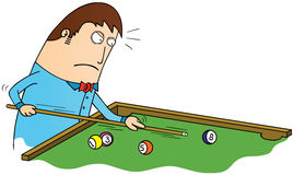 Billiard time Royalty Free Stock Photo