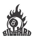 Billiard tournament. Design, illustration eps10 graphic royalty free illustration
