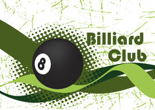 Billiard wave stock photography