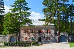 Billiarda Μουσείο του Peter ΙΙ Petrovic Njegos, Cetinje, Monteneg στοκ φωτογραφίες με δικαίωμα ελεύθερης χρήσης