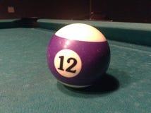 Billiardboll Royaltyfri Bild