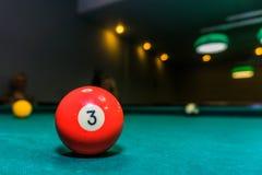 Billiardboll Fotografering för Bildbyråer