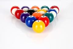 Billiardbollar Arkivbilder