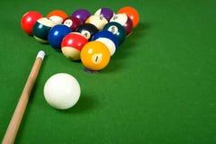 Billiarde des Pools Lizenzfreie Stockbilder