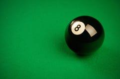 Billiardkugel Stockbild