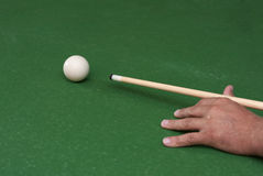 Billiardkugel Stockbild