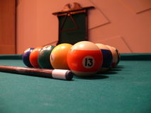 Billiardkugeln Lizenzfreie Stockbilder